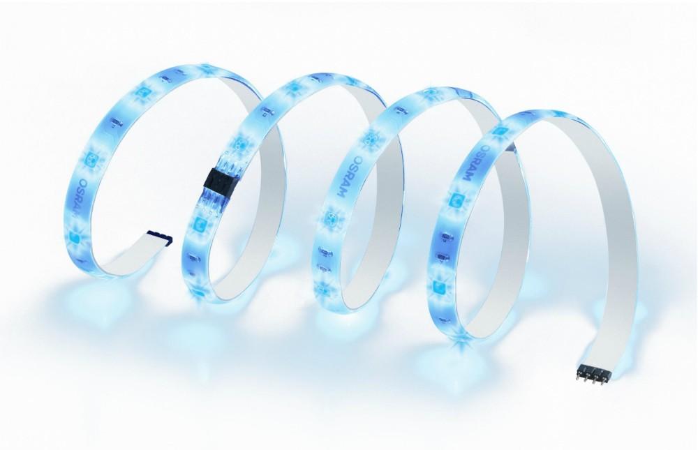 Ruban LED interagissant avec le signal cardiaque de l'utilisateur.