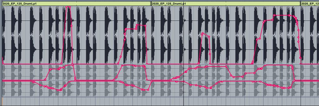 Visualisation d'automations diverses sous Ableton Live.
