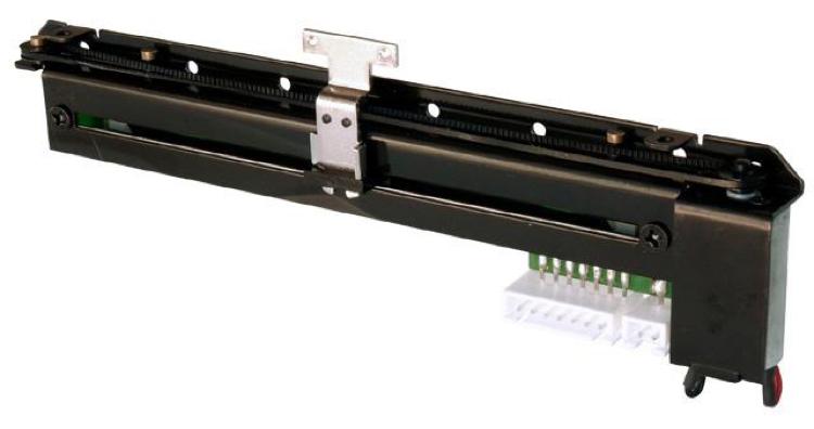 Le potentiomètre PSM01-082A-103B2, un fader motorisé linéaire.